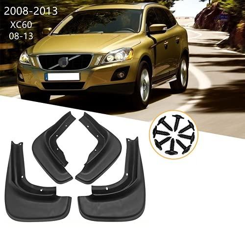 ENFILY 4 aletas de barro para Volvo XC60 2008 – 2013, protectores contra salpicaduras, guardabarros delanteros, accesorios para llantas de cuerpo (08-13)