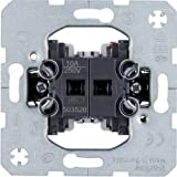 Hager BERK Jalousiewipptaster 503520 1polig, Metallic