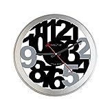 Nine2Five PFEE01NG Reloj de Pared, Tamaño Mediano, Multicolor