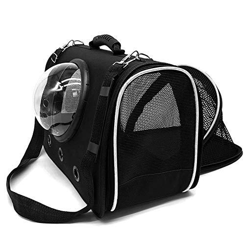 Sac à dos portable pour animal domestique, sac à dos pour la randonnée, la marche et l'utilisation en extérieur pour chat/chiens, siège de voiture pliable en maille de stockage de ventilation, a