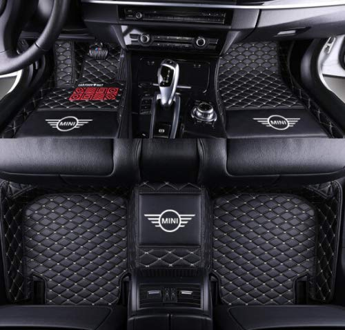 Luxury Car Floor Mats for Mini Cooper Cooper Clubman Cooper Countryman/Paceman (2, Please Send me Message car Model and Year.)