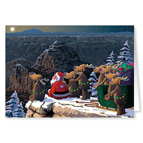 Grand Canyon Christmas Card - 18 Western Cards & 19 Envelopes - Arizona SouthwestCards