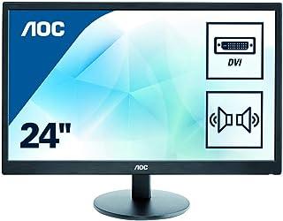 AOC E2470SWDA - Monitor TN WLED de 23.6