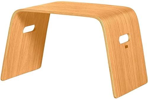 la mejor selección de XHCP Laptop Laptop Creative Simple Lazy Lazy Lazy Table Solid Wood (Color  blanco)  bienvenido a elegir