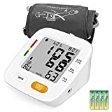 PUMIER Blood Pressure Monitor Upper Arm,Accurate Automatic Digital BP Machine for Home Use & Pulse Rate Monitoring Meter with Cuff 22-42cm, 2×90 Sets Memory, Large LCD Screen