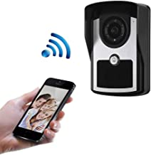 JXWWN WiFi Video Doorbell, Wireless Waterproof Smart Doorbell with 1080P HD Security Camera, Two-Way Talk, Motion Activated Alerts, IR Night Vision, Cloud Storage and App Control.