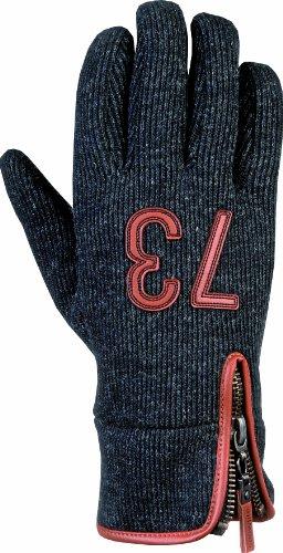 Snowlife ® Herren Winterhandschuh Handschuh dark grey/melange/brown Gr.M/XL