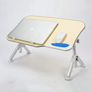 XYXK LAPTOP STAND Adjustable Lap Standing Desk Folding Non-slip Bezel Breakfast Bed Tray Durable Easy to Use Storage Noteb...