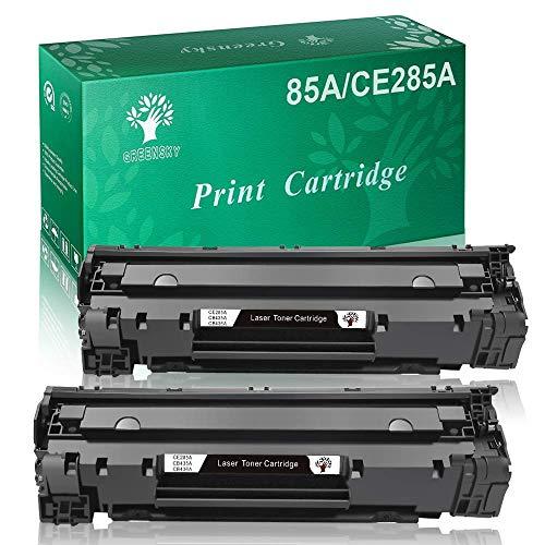 GREENSKY Cartuccia Toner Compatibile Sostitutiva per HP CE285A 85A per HP Laserjet Pro P1102 P1102w P1104 P1104w M1130 M1132