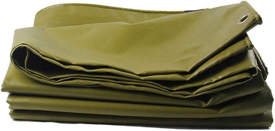 ZLL Bache extérieure imperméable-coffre voiture hangar couverture auvent tissu d'ombre imperméable tissu extérieur enduit de polyester imperméable à la pluie de bache,4 × 5m