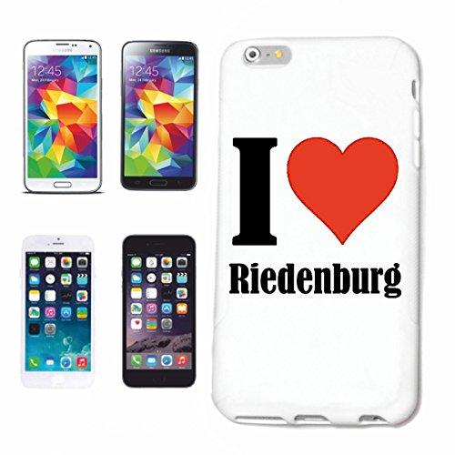 Hard Cover - Funda para teléfono móvil Compatible con Apple iPhone 6 I Love Riedenburg