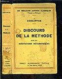 DISCOURS DE LA METHODE SUIVI DES MEDITATIONS METAPHYSIQUES - FLAMMARION