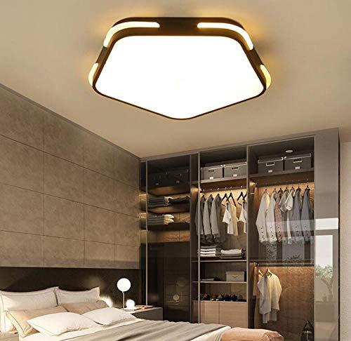 Plafondlamp ster met vijf takken acryl zwart ultradun 5 cm LED 24 W bescherming van de ogen Φ 40 cm kinderkamer meisjes en jongens