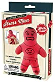 Perfect Life Ideas Flexible Stress Man Reliever Great for Calming The Hands and Mind Styles Vary- Durable Human-Shaped Stress Relief Toys for Reducing Anxiety and Tension 4.75 Inches Long