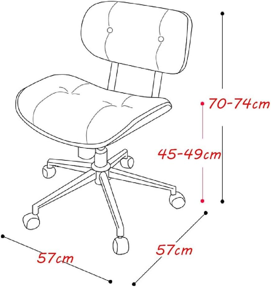 Chaise de bureau ergonomique Pivot Tabouret De Bar Ajustable Bistro Pub chaise Compteur Tabouret Roulant Chaise de salle à manger Chaise de pub (Couleur : Blanc) Noir