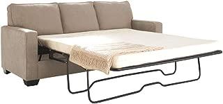 Signature Design by Ashley - Zeb Queen Size Contemporary Sleeper Sofa, Quartz