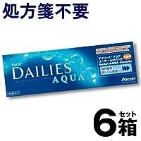 フォーカス デイリーズ アクア 【BC】8.6【PWR】-1.50 30枚入 6箱