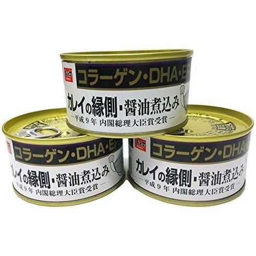 木の屋石巻 かれい縁側 醤油煮込み T2号缶 170g