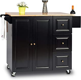 Best Mainstays Kitchen Cart Black Finish of 2020 - Top Rated ...