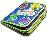 TXXM Quiet Libro, Usted Puede Aprender de los sentidos, 3D Libro Diseño for Padres e Hijos la Comunicación, Libro for Ocupado Actividades Tela, y Navidad for los