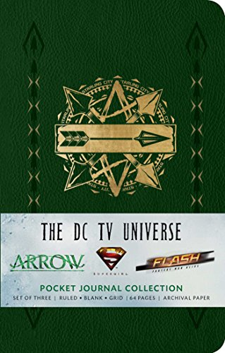 The DC TV Universe: Pocket Notebook Collection (Set of 3): Pocket Journal Collection (Comics)