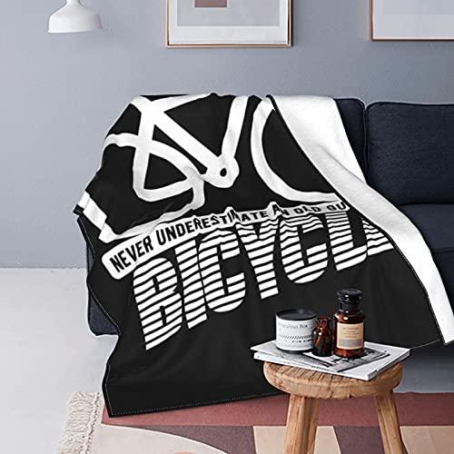 Manta de forro polar para sofá, versátil, suave y esponjosa para cama y sofá, 150 x 100 cm