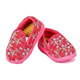 Girls Clubs Unisex-Baby's Pink Modern Shoes -9-12 Months