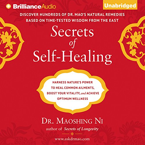 Secrets of Self-Healing audiobook cover art