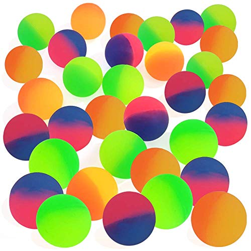 ArtCreativity ICY Bouncy Balls for Kids, Set of 12, Bouncing Balls with a Frosty Look and Extra-High...