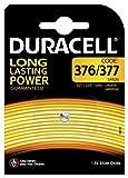 Duracell Specialty 377 Silberoxid-Knopfzelle 1,55V, 1er-Packung (SR66 / SR626 / V377 / V376 / SR626W / SR626SW) entwickelt für die Verwendung in Uhren, Taschenrechnern und medizinischen Geräten