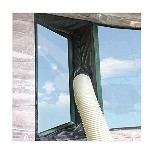 Yinong Universal AirLock fönstertätning för mobil luftkonditionering och avgaser varmluftsstopp (fönster 300 cm)
