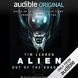 Alien: Out of the Shadows                   By:                                                                                                                                 Tim Lebbon                               Narrated by:                                                                                                                                 Jeff Harding                      Length: 9 hrs and 25 mins     125 ratings     Overall 4.2