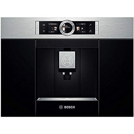 Bosch Electroménager CTL636ES1 Machine à café encastrable, 1600 W, 500 kilograms, Noir/INOX