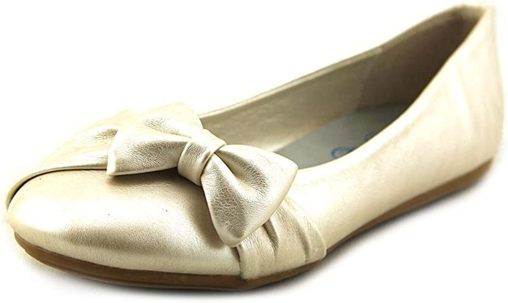 Flats with Bow (13, Ivory)