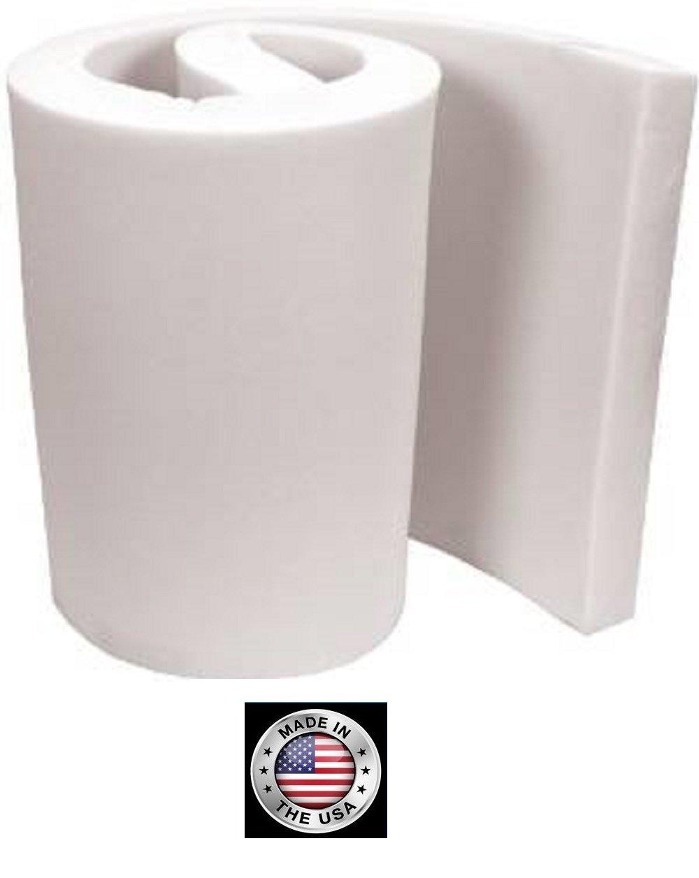 FoamTouch Upholstery Foam Cushion, 3'' L x 30'' W x 72'' H, Medium Density