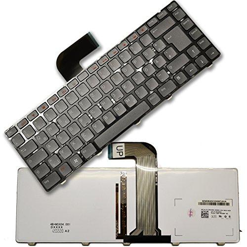 Tastatur für Dell Inspiron 14R N4110 M4110 N4010 N5050 M5040 M5050 XPS L502 L502X Vostro 3350 3450 3550 3460 3555 DE mit Backlight