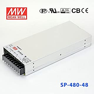 Meanwell SP-480-48 Power Supply - 480W 48V 11A - PFC