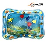 Liamostee Tapis de Jeu Gonflable gonflé de Coussin de Coussin de Tapis de bébé rempli par l'eau pour des Enfants