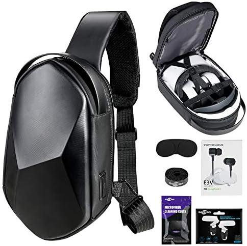 Oculus Quest 2 Case SARLAR Hard Chest Shoulder Backpack for Carrying Basic and Elite Version product image