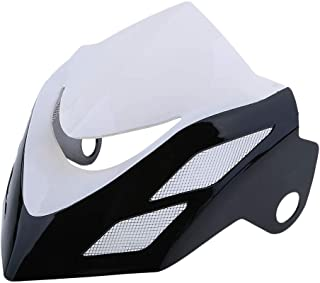 Headlight Fairing Cover Wind Screen Windshield for Honda Grom MSX125 2014 2015 - White