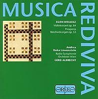 Wellesz: Violin Concerto; Prosperos Beschowungen (1998-11-01)