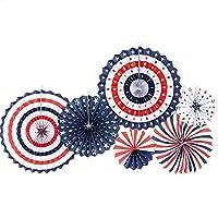 扇子 手作りの紙の折りたたみファン3 d図面の花のパーティーの紙の花の扇風機の装飾の結婚式の結婚式のカラフルな折り紙ファンの供給 うちわ (Color : 26)