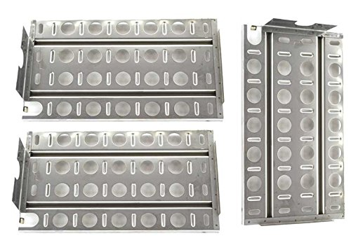 Grill Parts Zone Stainless Briquette Tray/Heat Shield for Lynx L27, 36, L30APSFR, LBQ27RE, L54R, L30F, LBQ27FR Gas Models, (3-Pack)