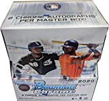 2020 Bowman Chrome Baseball Factory Sealed Hobby Master Box 2 Auto Both are On Card Autographs Chase Rookie Autographs and parallels of Luis Robert and Kyle ... rookie card picture
