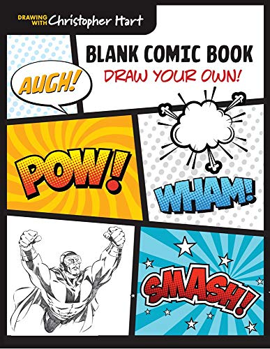 A Blank Comic Book is a cool Easter basket filler for tween boys