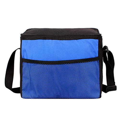Picnic Bags Isothermal Insulated Bag Refrigerator Lunch Box Beach Fridge Camping Travel Barbecue BBQ Tools Beer Drink Basket,Blue