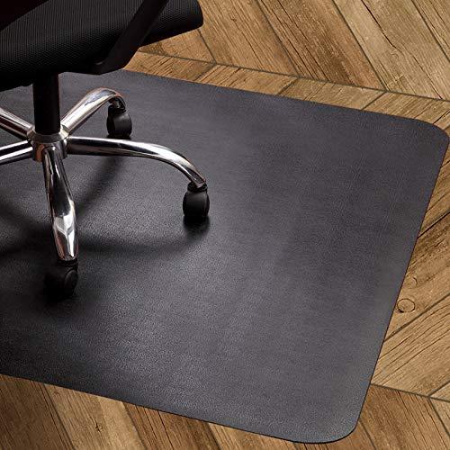 OleOletOy Bodenschutzmatte schwarz, Bürostuhl unterlage 120x90cm - für Laminat, Parkett, Fliesen und Hartböden, schützen Ihren Boden vor Kratzern - rutschfest, Keine Ausdünstungen, atoxisch