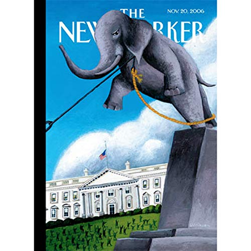 The New Yorker (Nov. 20, 2006) audiobook cover art