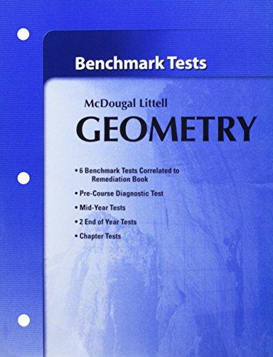 Holt McDougal Larson Geometry: Benchmark Tests