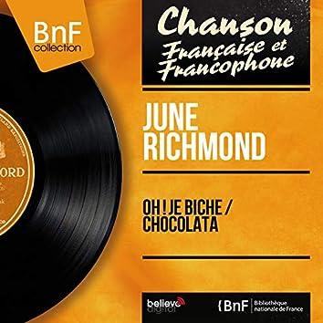 Oh ! je biche / Chocolata (feat. Jacques Brienne et son orchestre) [Mono Version]